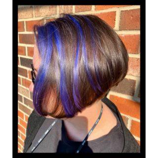 Lie Locks💙 • • • #salonfave • • • Highlights+haircut: @tiffanygb