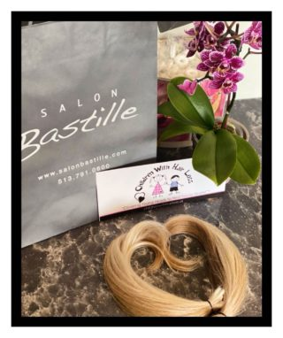 We're so happy to be partnered with this wonderful organization, Children with Hair Loss with our weekly hair donations💖 • • • #salonfave • • • #cutpasslove